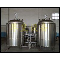 尊皇ZH啤酒设备两体三器糖化系统、糖化锅、过滤槽、沉淀槽、煮沸锅
