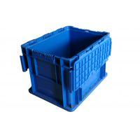 广西柳州 五菱 通用汽车塑料物流箱 欧标对翻盖 可定制颜色 PP料