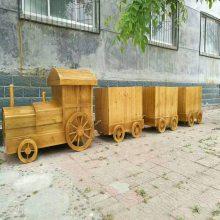阳江街道花箱现货,实木组合花箱质量好,奥博厂家