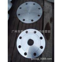 广州市鑫顺管件销售内螺纹铝合金盲板法兰DN80