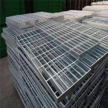 外贸平台踏步板 镀锌钢格栅板厂 钢格栅板厚度