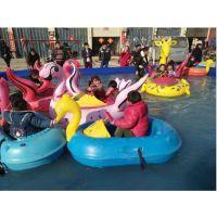 特价儿童手摇船充气水池 单人双人亲子手摇船 儿童水上玩具游乐园手摇船