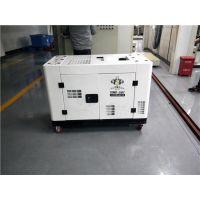 武汉水冷15千瓦静音柴油发电机