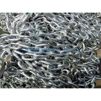 DIN763 不锈钢链条\不锈钢有档锚链 12厘米