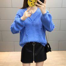便宜毛衣库存尾货杂款韩版女装针织衫几元毛衣清货大朗毛衣批发工厂