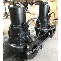 3KW旋流泵价格 无堵塞排污泵 100WQ100-5-3 凯普德 kapud