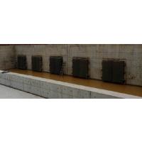 河北昊宇水工耐腐蚀节能型侧翻拍门按规格定制厂家供应