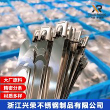供应超长不锈钢扎带4.6*1000 不锈钢自锁线束带超长
