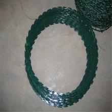 刀片滚笼围网 螺旋式刀片滚笼 刺绳用途