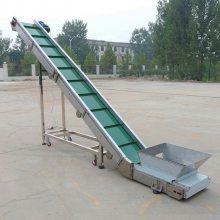 [都用]农用化肥输送机 十米长皮带输送机 散颗粒皮带机定做