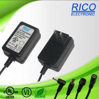 供应RICO12W 欧.美.英.澳规适配器.LED灯饰电源.家电类台灯电源.按摩器材适配器.认证齐全