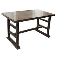 工厂直销酒店钢木餐桌椅