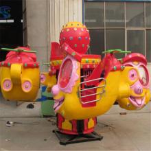 儿童经典款公园游乐设备大眼飞机dyfj12人三星游乐设备厂家研发