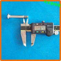 十一字槽平尾自攻螺丝钉 黑色平尖螺丝钉 生产加工定做 M68101216
