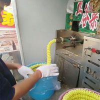 秦皇岛 汽油江米棍膨化机 食品空心棒机 单杠四缸暗仓膨化机