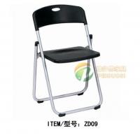 简约折叠椅塑钢椅会议椅塑料办公椅折叠椅厂家培训椅
