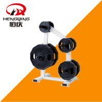 恒庆健身器材悍马系列HQ-3010杠铃片架 健身房常用辅助工具 运动力量健身器械