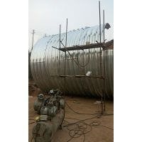 中泰信波纹涵管 大口径波纹管涵 Q235热轧钢板 涵洞排水