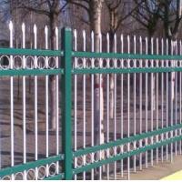 别墅区锌钢护栏网 小区铁艺围栏网 插拔护栏 一米多少钱哪里可以买到