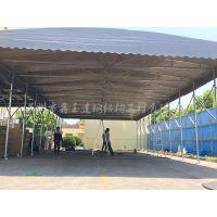 无锡高新厂家供应活动伸缩雨蓬移动仓库特色遮雨帐篷门口雨蓬直销