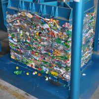 牧草、废纸打包、棉花打包、服装打包废旧电表箱铝合金打包机科博机械