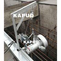 潜水搅拌机安装注意事项 潜水搅拌器现场安装工程案例 凯普德