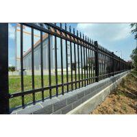 宜春厂区学校铁艺锌钢护栏围墙防护栅栏 宜春双横梁型锌钢铸铁围墙护栏