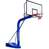 江门给力体育器材厂移动篮球架送货安装