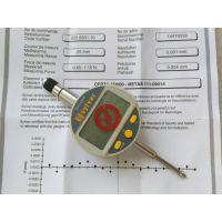 供应瑞士SYLVAC高精密型数显千分表805.5501 25mm电子高度规