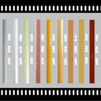航彩金葱粉HC222 110闪金粉真瓷胶香槟金 美缝剂 印花涂料