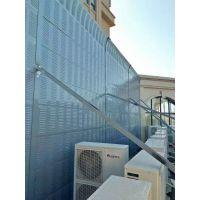 安麦斯声屏障厂家 金属声屏障高铁高架隔音墙 搅拌站吸音板 风机隔音屏