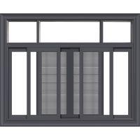 佛山厂家美多裕门窗定制铝合金门窗 126系列三轨推拉窗 隔热防水