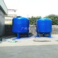 清又清直销厚街镇污水处理设备过滤沙田镇Q235碳钢中水回用碳钢过滤罐