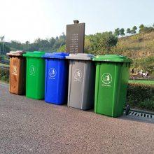 绿色垃圾桶,餐厨垃圾桶分类标识厂家定做
