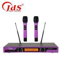 金迪 JDS MX-3500/MX-35 一拖二手持无线话筒 KTV无线感应麦