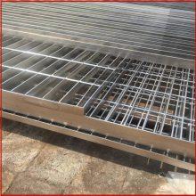 楼梯踏步钢格板 现浇排水沟盖板施工 水沟盖板哪家好