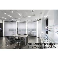订制产品展示柜 眼镜精品展示柜 展示柜 木制眼镜专卖店展柜制 M