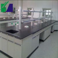 钢木实验台湖南化验室操作台实验室试验水槽边台