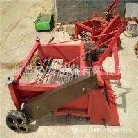 马铃薯收获机 厂家直销 手扶拖拉机带动红薯土豆带秧收获机