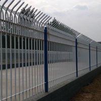 防爬围墙护栏庭院围栏小区锌钢铁艺栅栏公司厂区防护栏