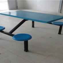 【特价】直销饭堂玻璃钢圆凳餐桌 学校食堂餐桌椅