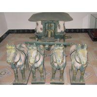 西安铜车马工艺品 桌摆铜车马