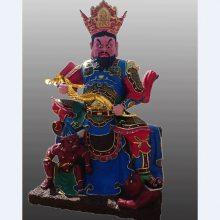 寺庙神像 玻璃钢四大天王佛像 四大金刚护法 增长天王河南厂家供应