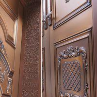 怎样能减少铜门扇的变形?
