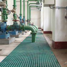 污水钢格板价格 优质焊接网版 防滑沟盖板