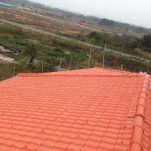 四川德阳厂房塑钢瓦 仿古屋面塑料瓦片 pvc防腐瓦屋顶瓦片