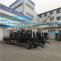 BZT600D型拖车钻机、水井、工程钻机、正循环钻机