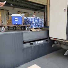 吉林10吨固定式登车桥 电动液压升降装卸平台 升降月台制造厂家