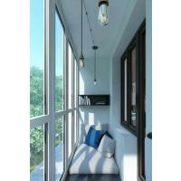 洛阳推拉窗和平开窗高层封阳台窗户哪种开启通风好?