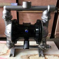 1.5寸 QBY-40不锈钢气动隔膜泵 内衬F46膜片 压滤机专用入料泵